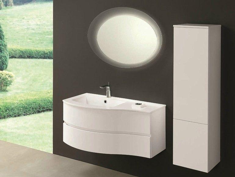 Ikea Arredobagno ~ Mobile #arredobagno #unico #curvo #wood @mobiltesino #shoponline