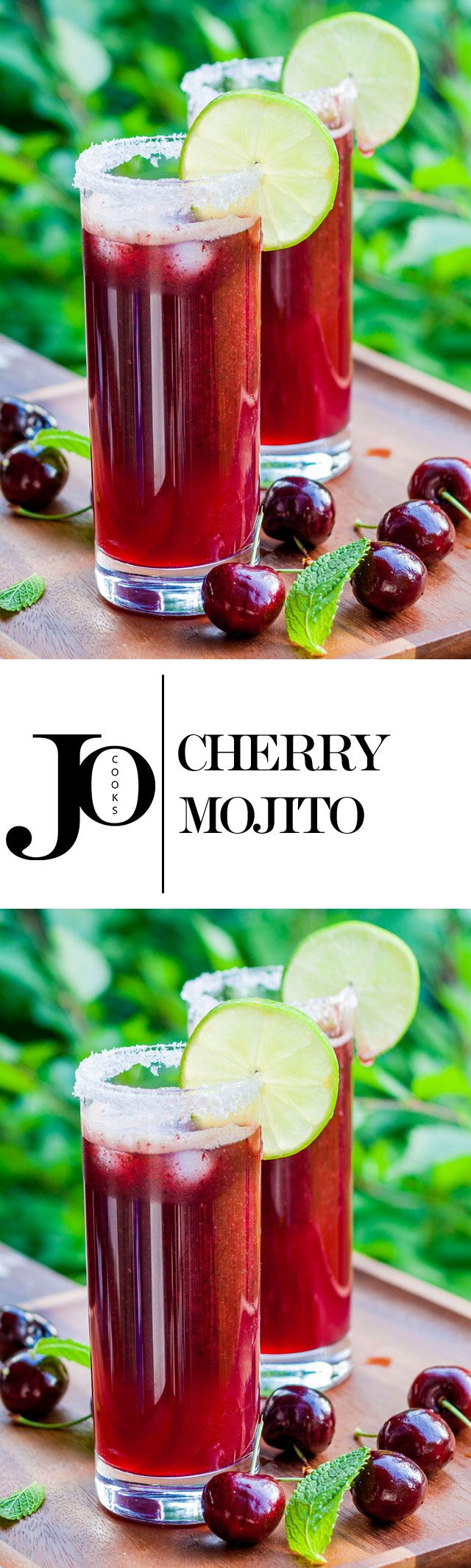 The Ultimate Mojito The Sequel The Cherry Mojito Jo Cooks Drinks Alcohol Recipes Food Yummy Drinks