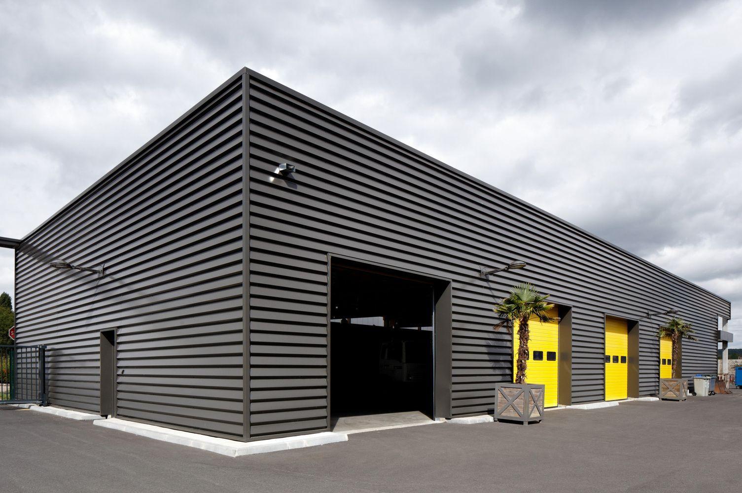 Gallery Of Municipal Technical Center Studios Architecture 19 Warehouse Design Factory Architecture Garage Design