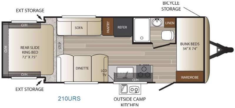 New 2017 Keystone RV Outback Ultra Lite 210URS Travel