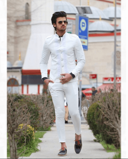 9cdeed059552 All-White-Formal-Look-404x500 Guys Formal Style - 19 Best Formal Outfit  Ideas for Men