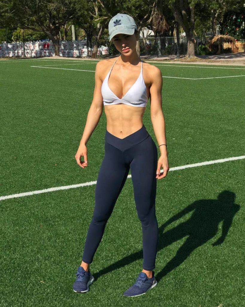 Mejores modelos fitness mujeres