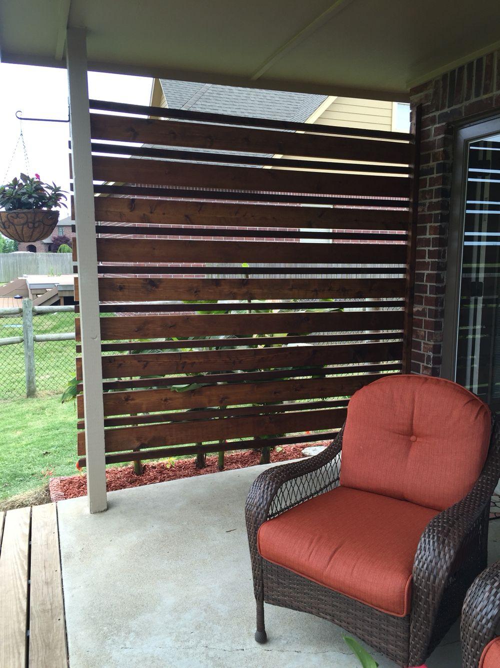 Custom patio wind block - Custom Patio Wind Block WoodSmith Designs Pinterest Custom
