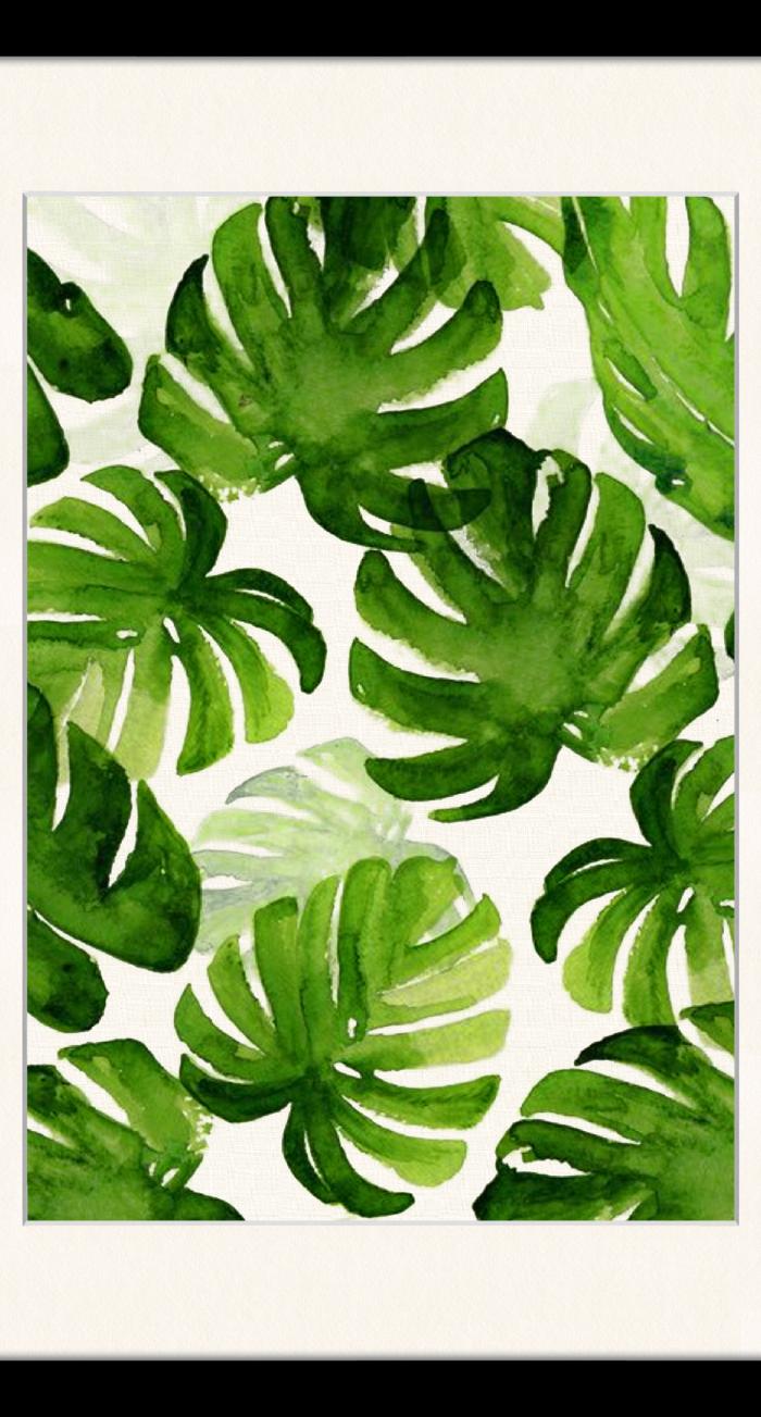 Monstera Leaves Framed Graphic Art Tropical Art Art Prints Prints