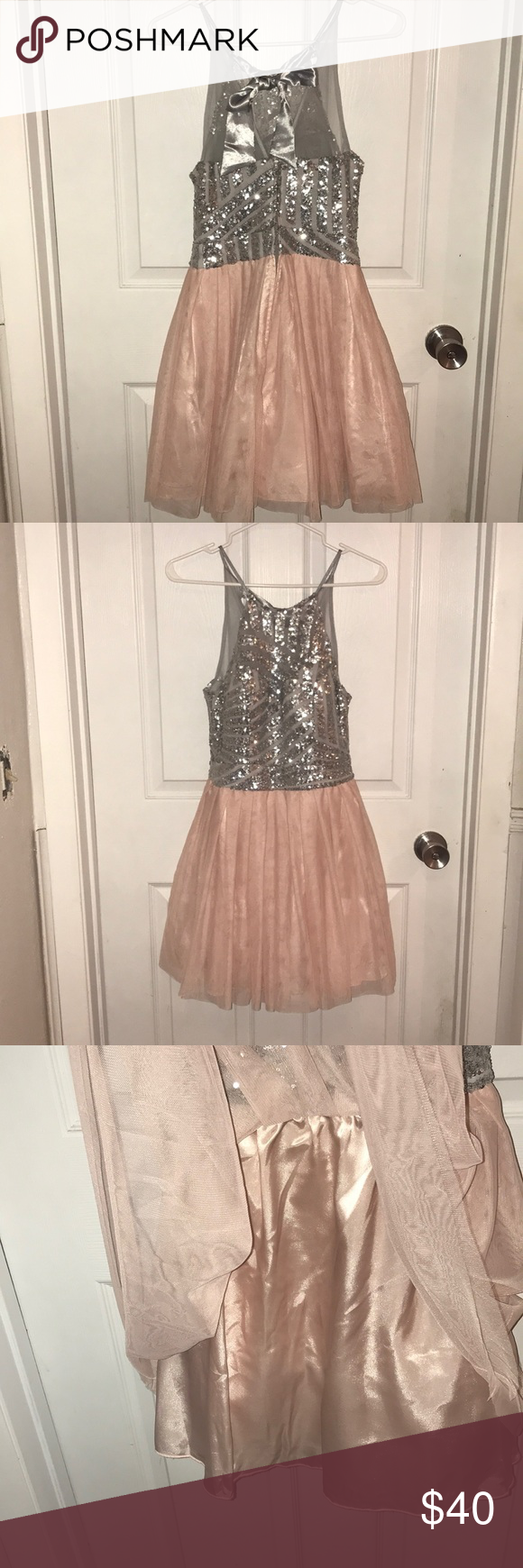 B darlin cocktailprom dress worn once my posh picks