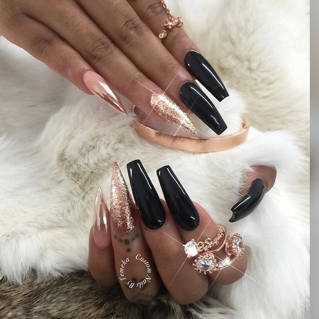 Not A Fan Of The Two Diffe Nail Shapes But Everything Else I Love