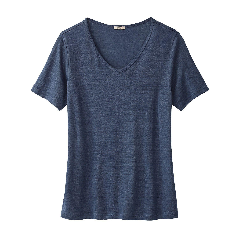 V-Shirt, indigo Enna