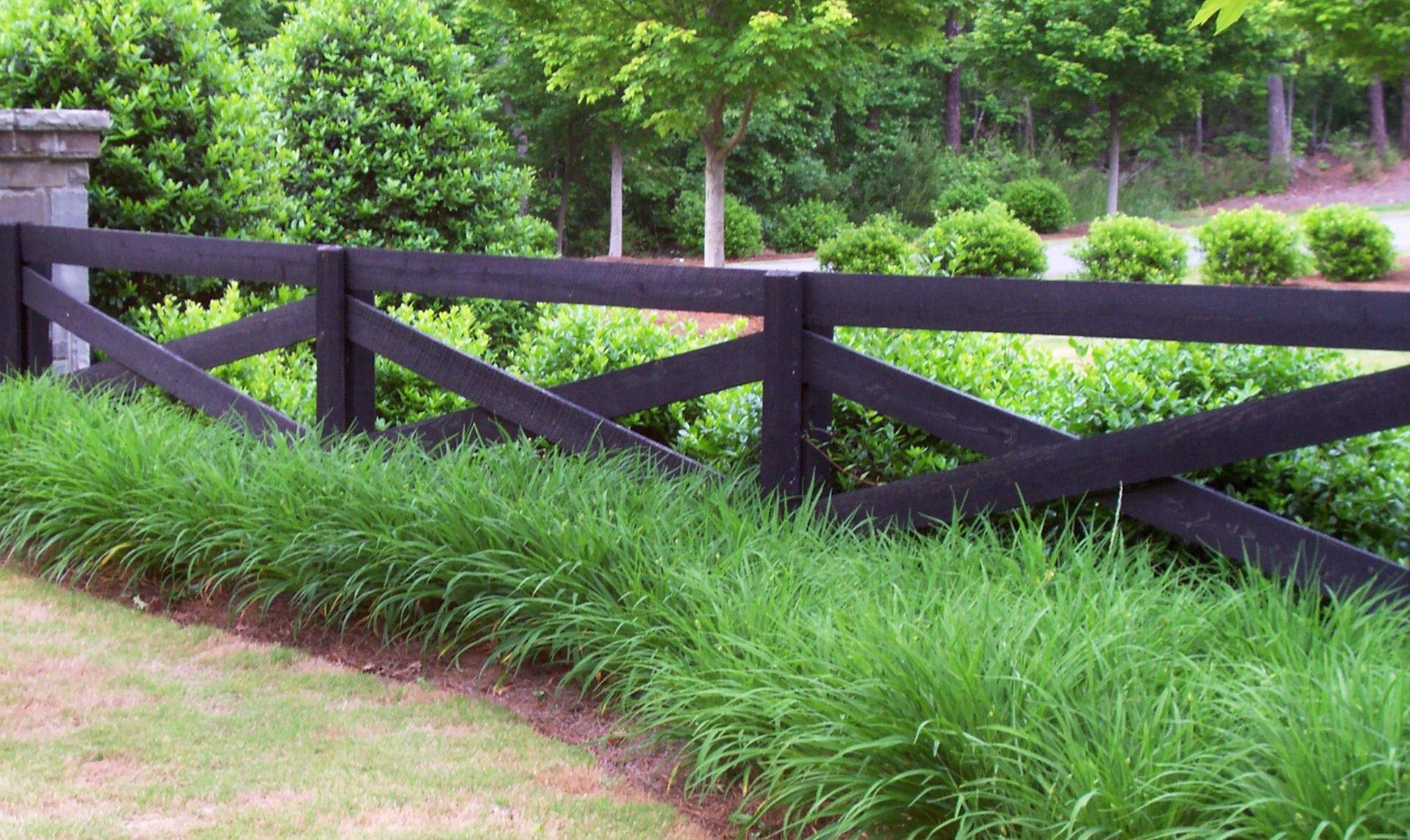 Custom crossbuck wood fence by mossy oak fence company central fl find this pin and more on horse fence designs baanklon Gallery
