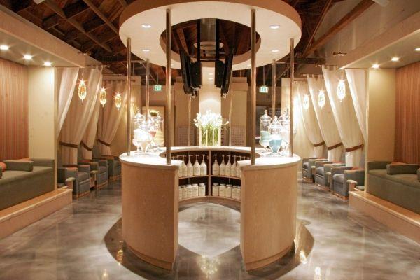 Home Spa Design Ideas: Luxury Nail Salon Interior Design
