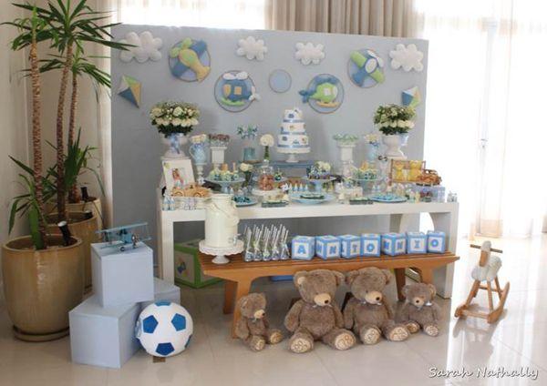 decoracao cha de bebe de menino festa dos brinquedos blog vittamina ...