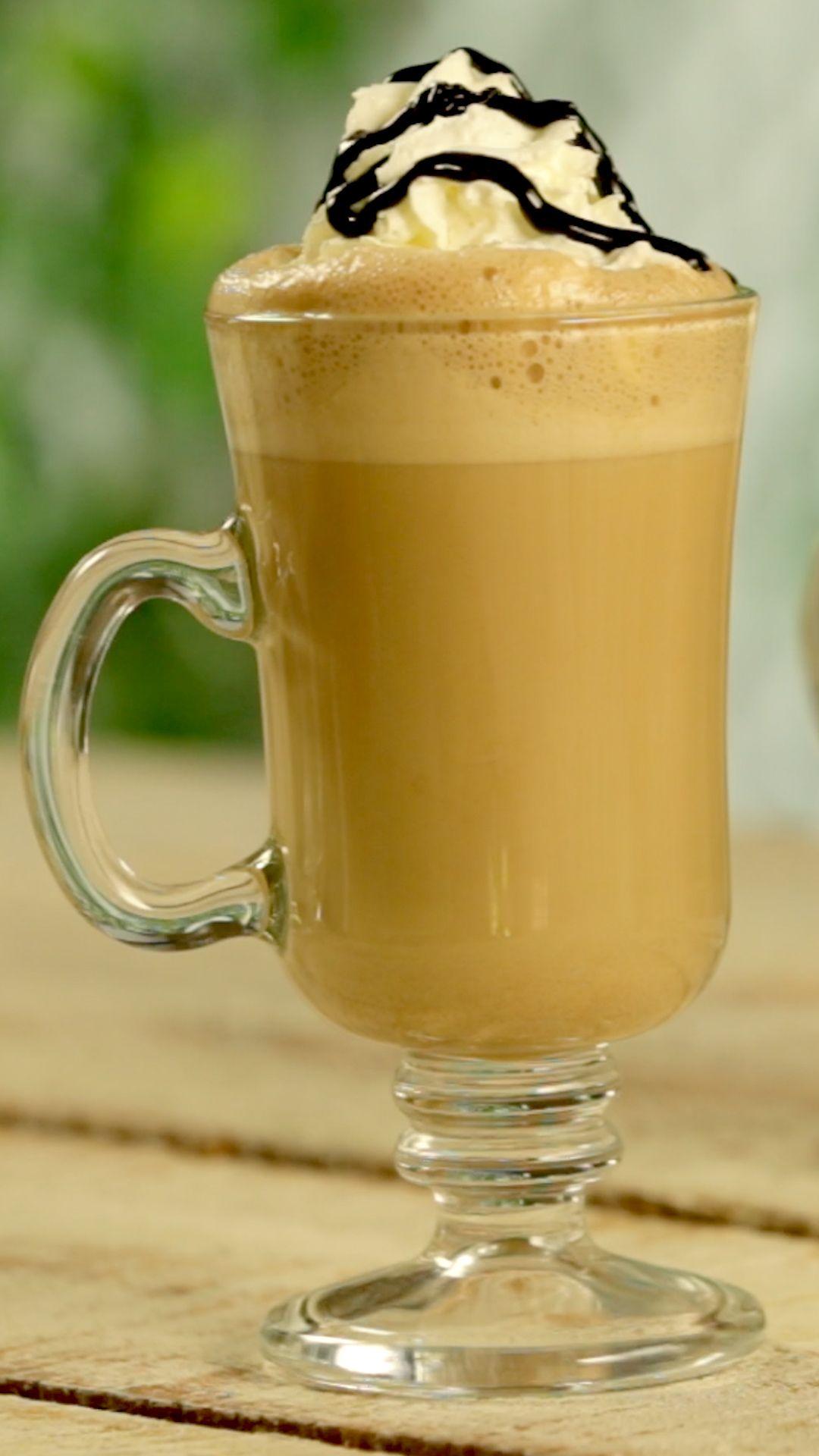Café Helado con Nutella