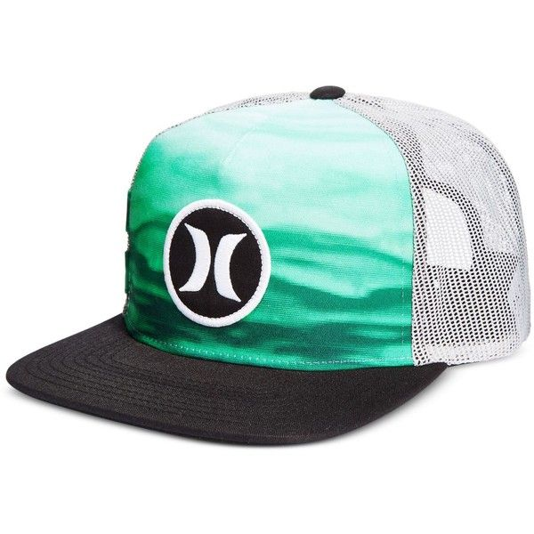 Hurley Men s Block Party Flow Graphic-Print Snapback Hat ( 12) ❤ liked on a451d409581