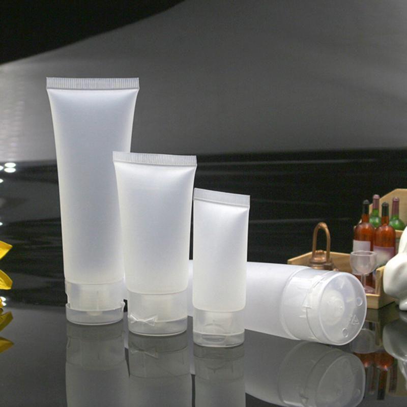 Plastic Pump Bottles Pet 250ml Refillale Cosmetics Pressing Travel