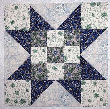 An Evening Star Quilt Block Pattern for Beginning and Expert ... : block quilt patterns for beginners free - Adamdwight.com