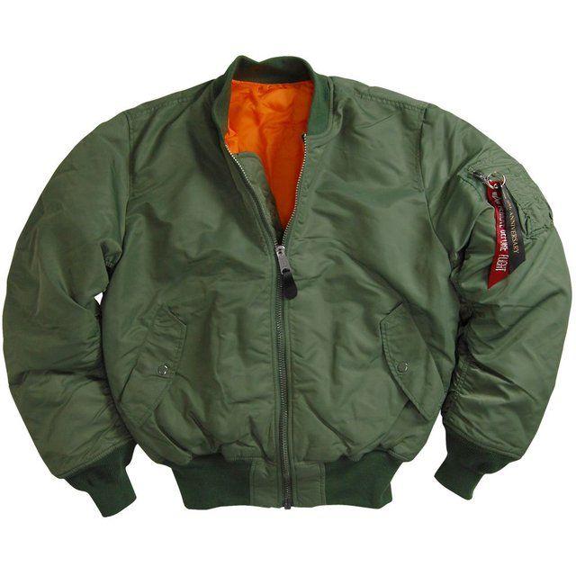 MA-1 Flight Jacket by Alpha Industries