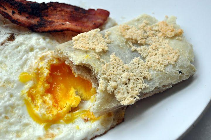 grain-free cheesy tapioca flat bread & cinnamon sugar variation