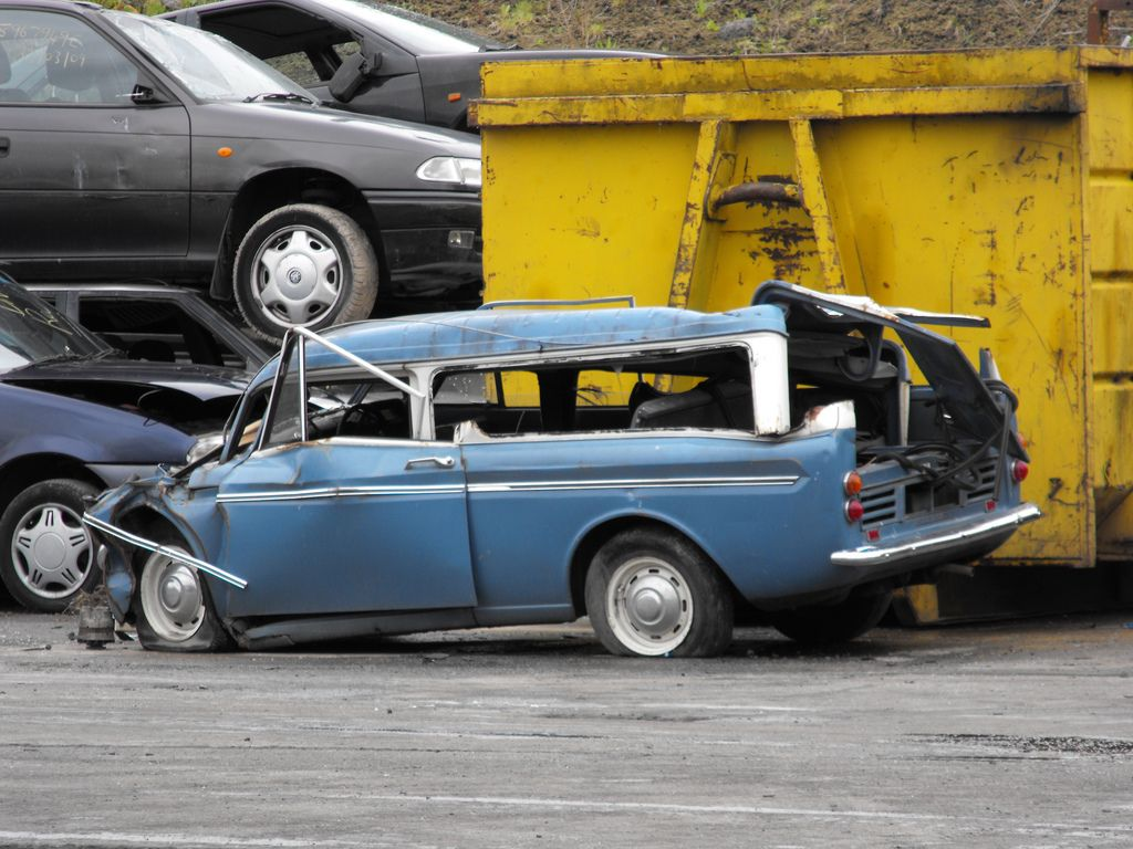 Scrap Yard With Images Hillman Husky Abandoned Cars