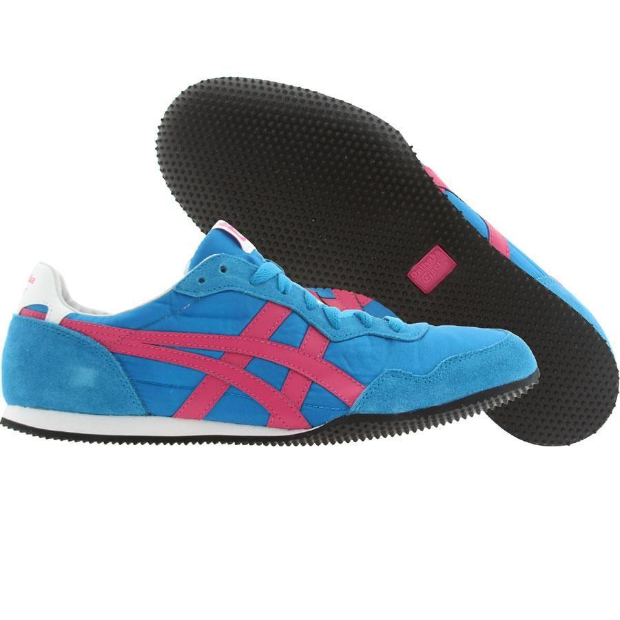Onitsuka Tiger Ultimate 81 Schuhe Electric blau/Neon pink Damen