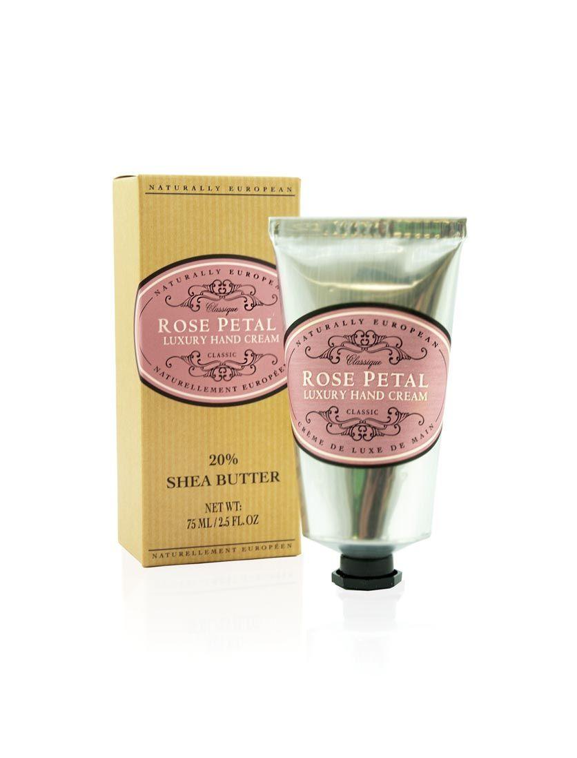 Shea Butter Rose Petals Hand Cream   Moisturizers   L
