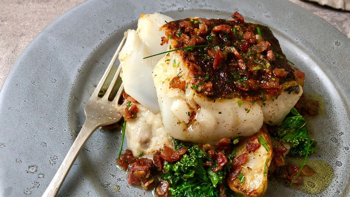 skrei fisk recept