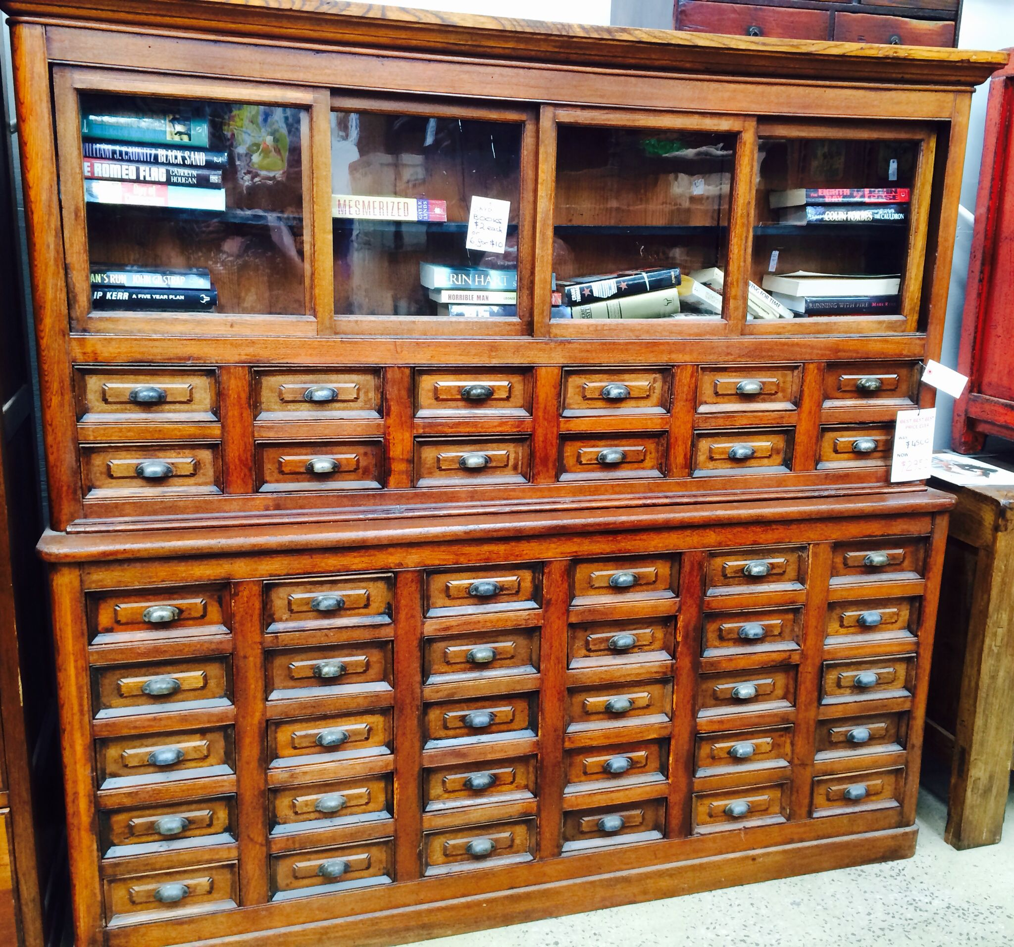 Vintage apothecary cabinet for sale - My Japanese Shop Drawers For Haberdashery But Was Used For Apothecary I Will Be Using Them For Craft Haberdashery Drawers With My Antique Spool Cabinet On