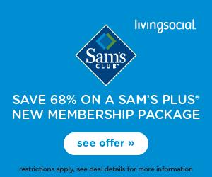 Living Social Sam S Club Deal 45 1 Year Membership 20