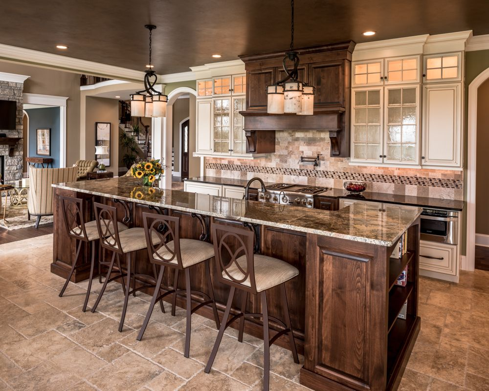 Pin by Custom Home Group on Kitchens in 2019 | Home kitchens ...