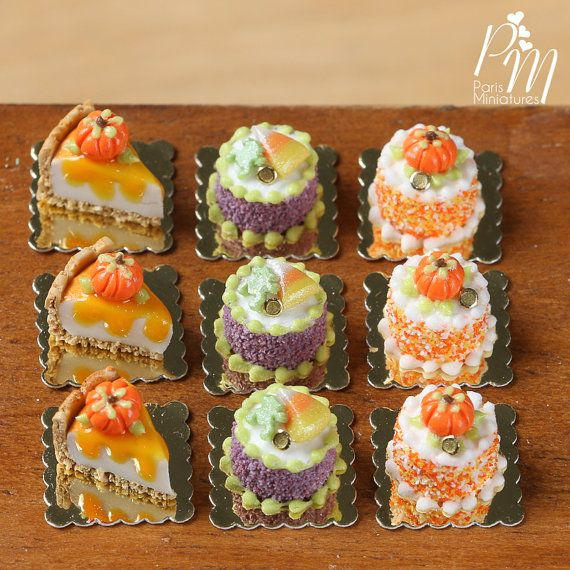 Miniature Genoise fall♡ ♡ By París Miniature