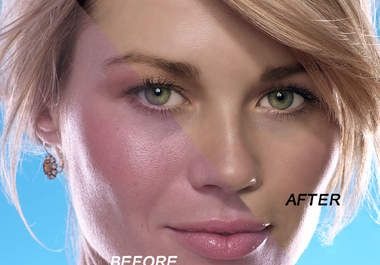 I will retouch your face and make your portrait look great and natural, i will also crop and sharpen if... for $10
