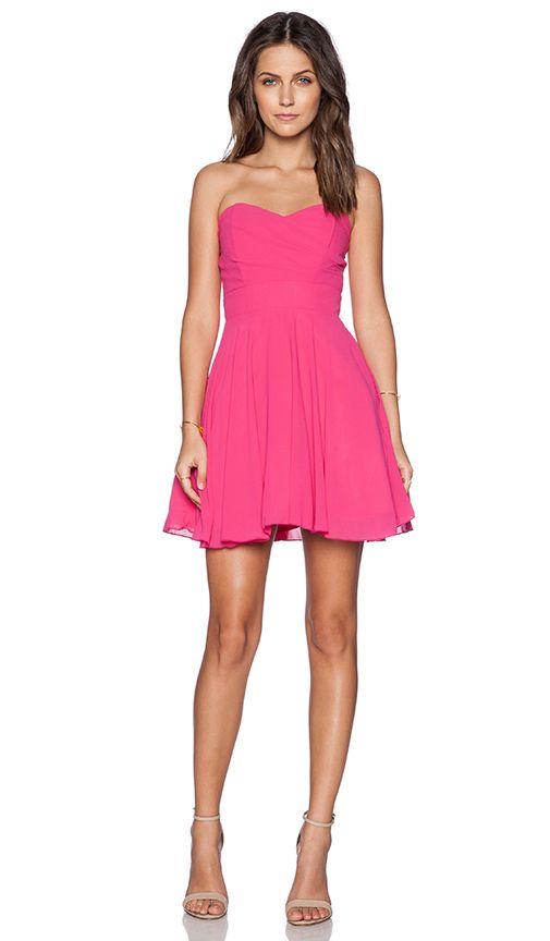 bd73f05a2e3bb Shop for TFNC London Minnie Tutu Dress in Hot Pink at REVOLVE. Free ...