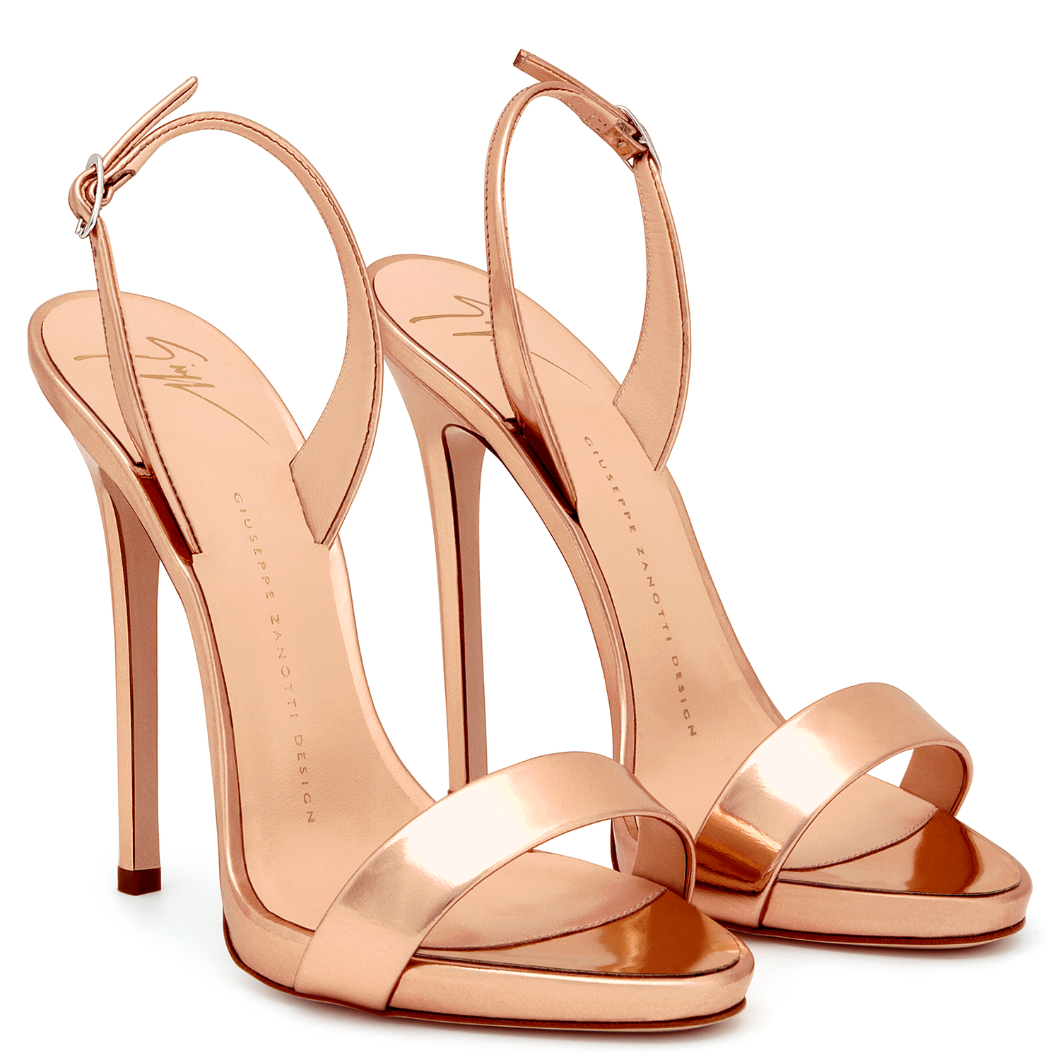 Beautiful shoes · Sophie - Sandals - Search.nav.filters.facet.gold Pink |  Giuseppe