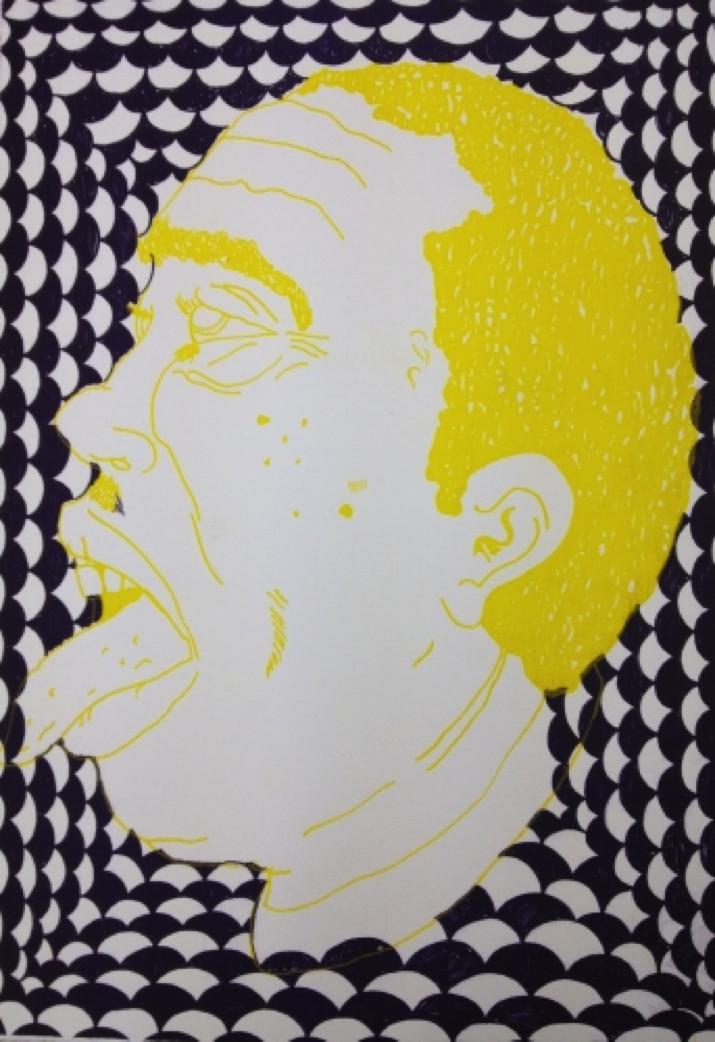 Christian Finne – Untitled. Risoprint, 42 x 30 cm. Oplag: 12. Pris: 800 kr.