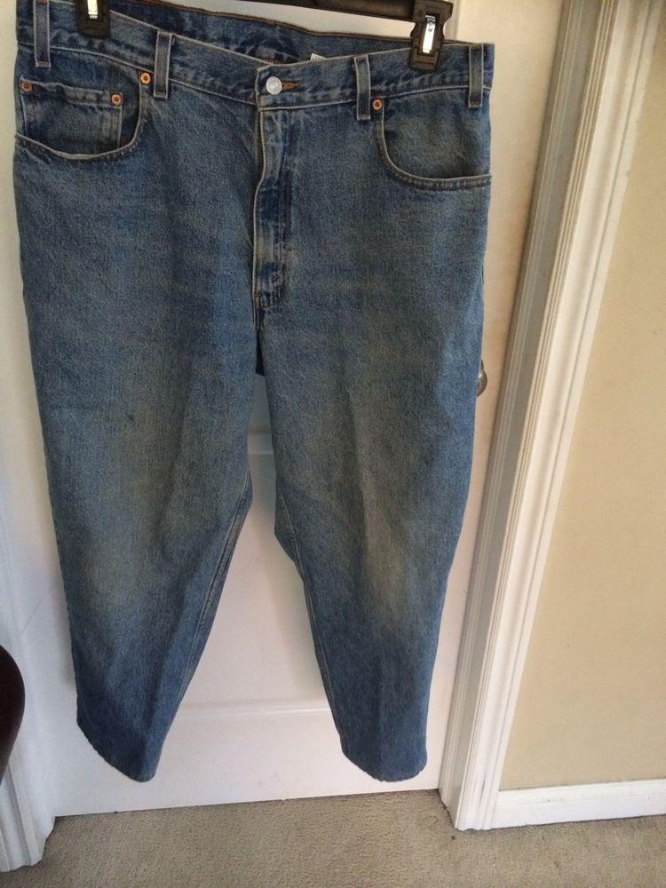 Men Levi Blue Jeans 560 Size 36- 30 #Levis #Relaxed