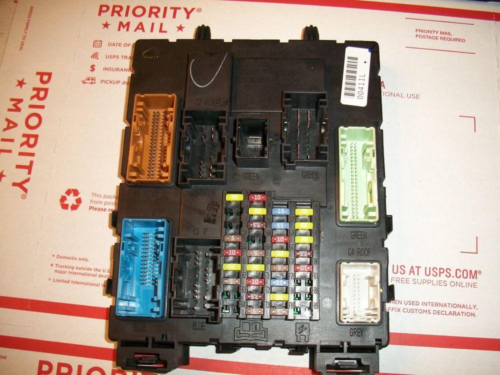 12 13 Focus Bv6n 14a073 Lg Fuse Box Relay Unit Body Control Module Fuse Box The Unit Relay
