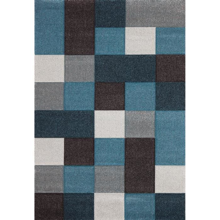 allotapis tapis courtes m ches pour salon bleu eden 200x290cm bleu salons. Black Bedroom Furniture Sets. Home Design Ideas