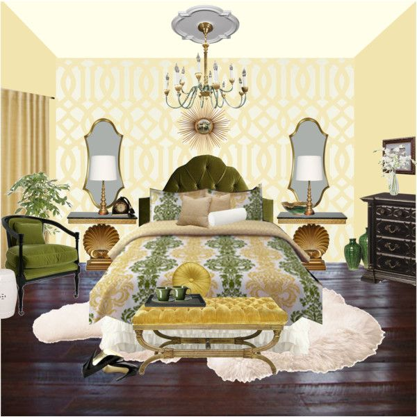 Genial Hollywood Regency Bedroom