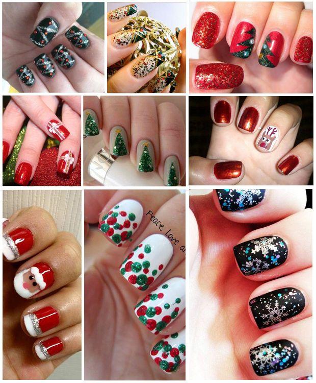 spesso Nail Art Natale 2013, tante idee originali per vestire le tue  MF47