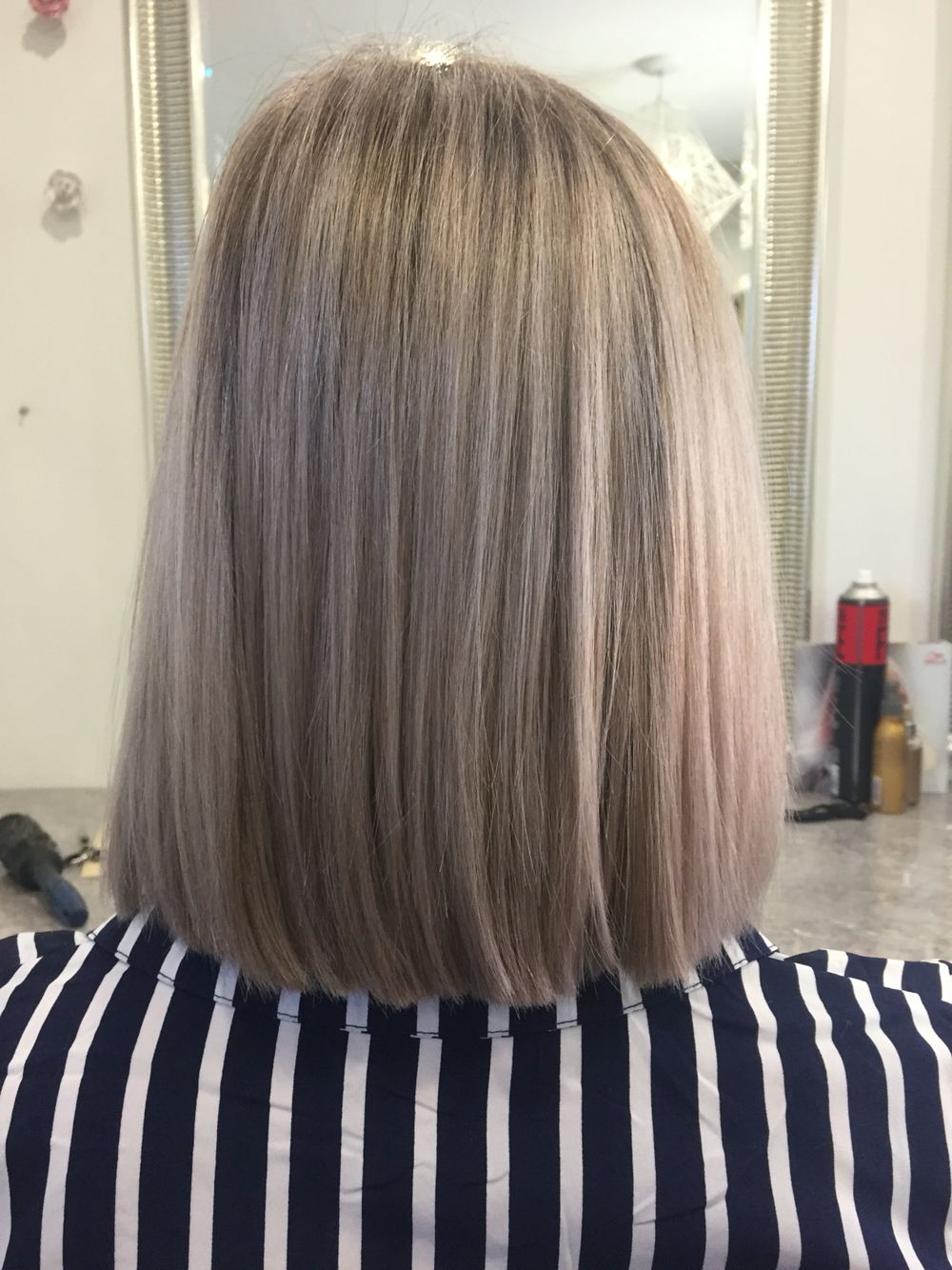 Full head foils with Wella hair colour.. INSTAMATiC toner smokey amethyst  FORMULAS in 2019