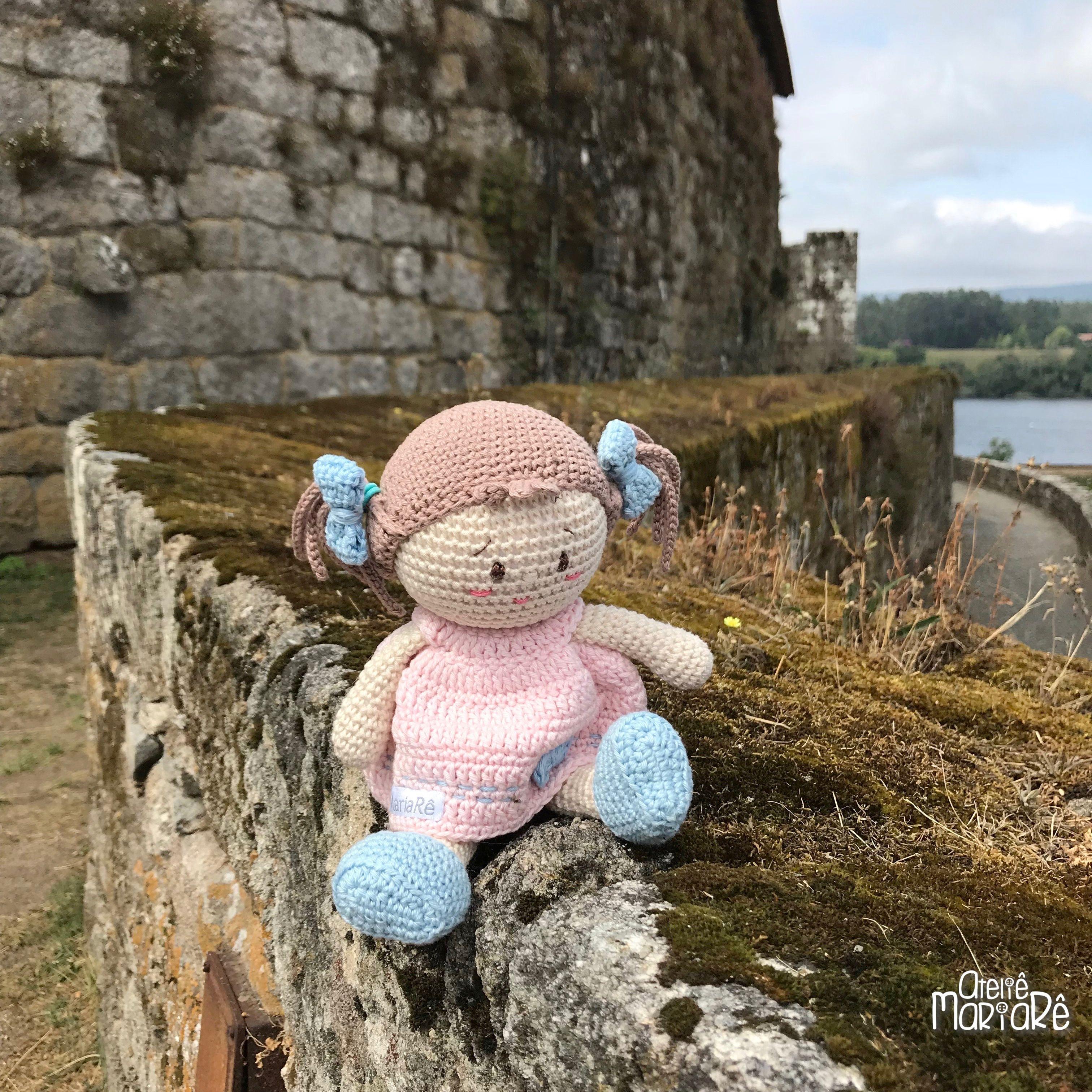 O Castelo De Vila Nova De Cerveira é Medieval E Foi Construído Em Estilo Gótico Em Cima De Um Morro E à Beira Bonecas De Crochê Presentes Para Garotas Atelier