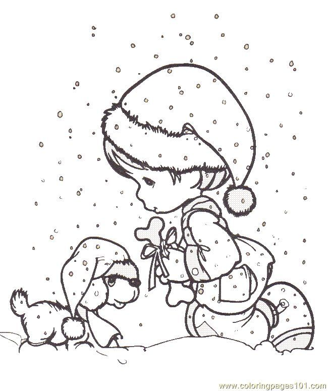 Precious Moments Coloring Pages httpdesignkidsinfoprecious