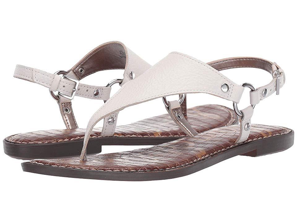 c99b1eef2ad Sam Edelman Greta Women's Sandals Bright White Botalatto Tumbled ...