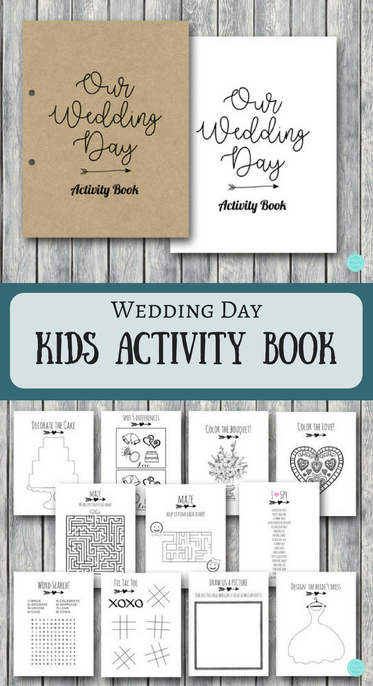 Genius Table Games To Keep The Kids Busy At Weddings Perfect Wedding Idea And These Books Are C Kids Wedding Activities Kids Table Wedding Wedding With Kids