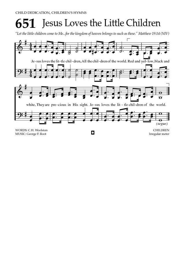 Jesus Loves the Little Children - Hymnary.org | Christian Music ...