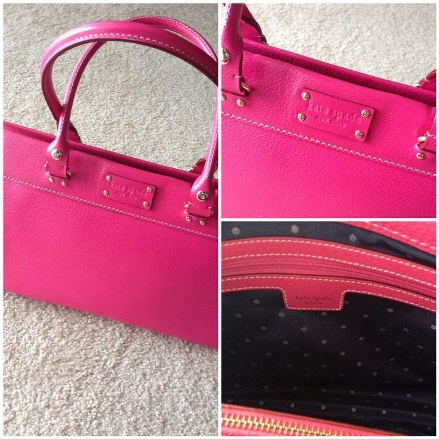 Kate Spade Leather Shoulder Bag - Stale French Fries  9d208fe44cc94