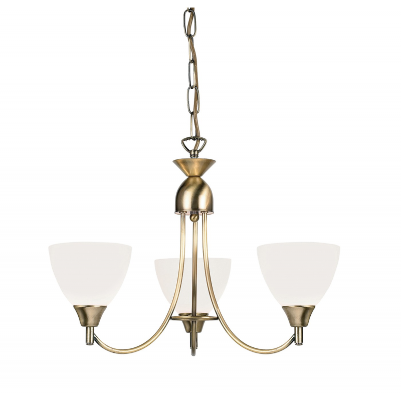Details about Searchlight 5 Lights Traditional Brass Cream Shades Ceiling Pendant Chandelier
