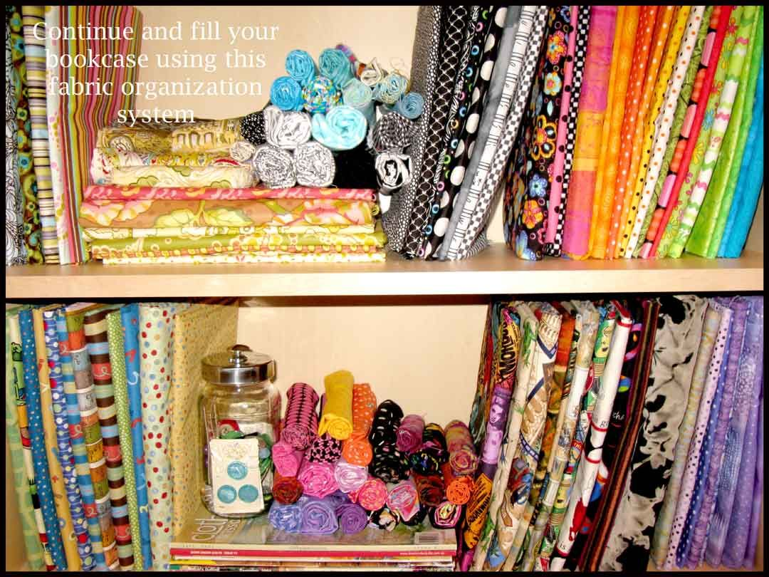 Uncategorized The Fabric Organizer fabric stash organization and tutorial fabrics after the is wrapped around a board pinned it can live on your