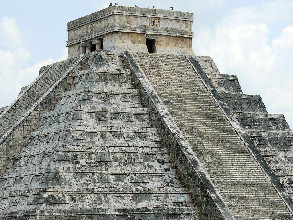 mayan sacrifice temple - HD1024×768