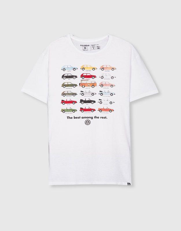 72c2e358756f7 Camiseta volkswagen - Camisetas - Ropa - Hombre - PULL BEAR México ...