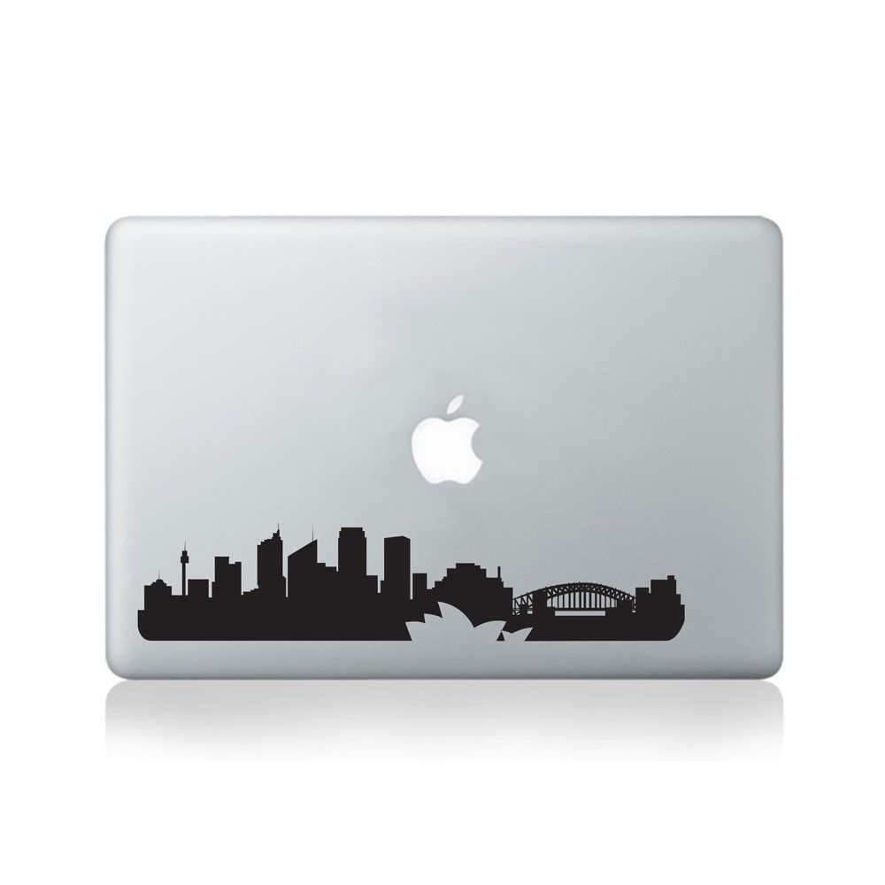 Sydney City Skyline Vinyl Decal for Macbook (13/15), Laptop or Guitar