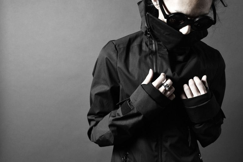 deviant blog - N/07 ANORAK JACKET / SUPIMA WEATHER CLOTH